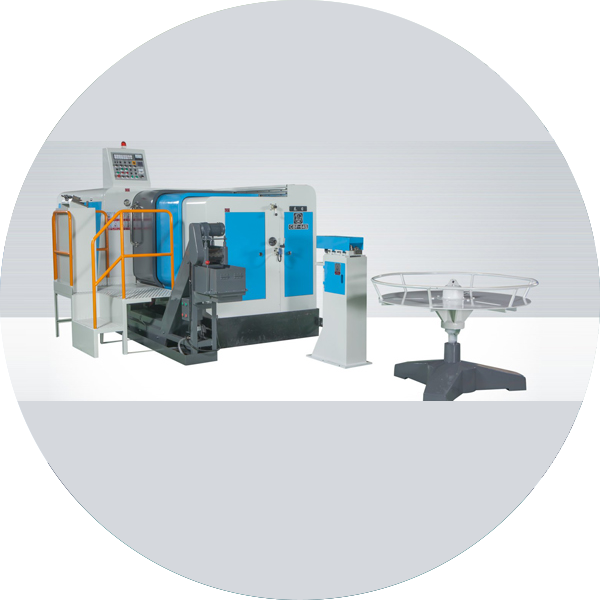 Multistage cold forging machine