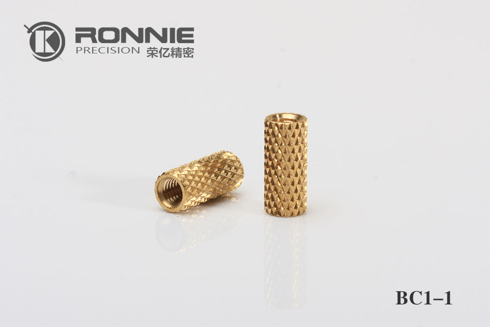 Diamond knurl nut